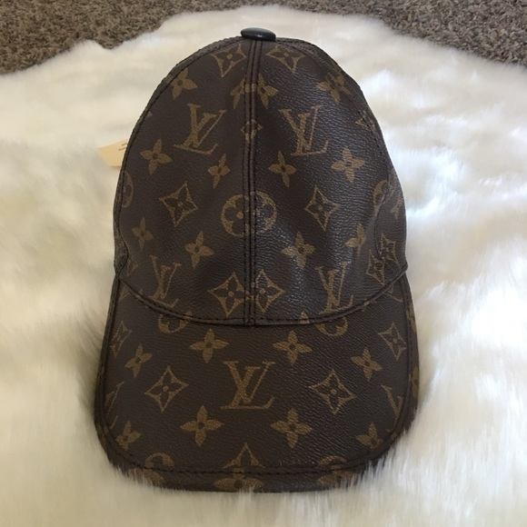 Louis Vuitton Other - Authentic LV brown hat b8f2753cebd